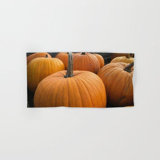 Halloween pumpkins Hand & Bath Towel