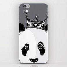 King Panda iPhone & iPod Skin