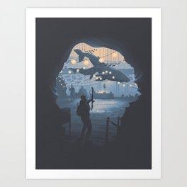 The Last of Us 2 Poster Series - Owens Aquarium Art Print