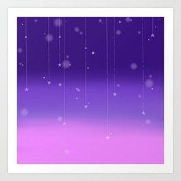 Wish Upon A Falling Star Art Print