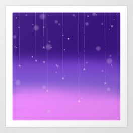 Wish Upon A Falling Star Art Print