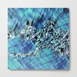 under the surface abstact art Metal Print
