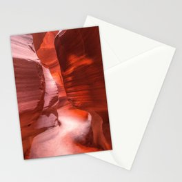 Path of Light - The Beauty of Antelope Canyon in Arizona Stationery Cards