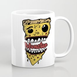 Pizza Monster Coffee Mug