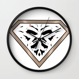 Rorschach - It Stands for Nope Wall Clock