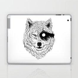 I Dream in Solitude (B/W) Laptop & iPad Skin