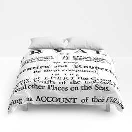 Historical Pirate Trials Comforters