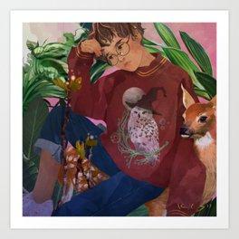 HP Casual - Harry Art Print