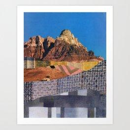 Landscape Collage 3 Art Print