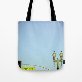Ped Xing Tote Bag