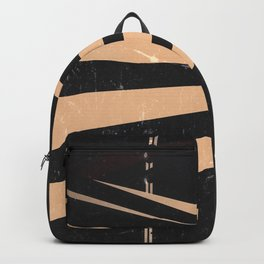 Vintage Film Lines Abstract Backpack