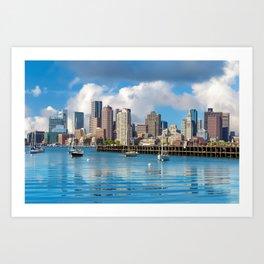 Boston 02 - USA Art Print