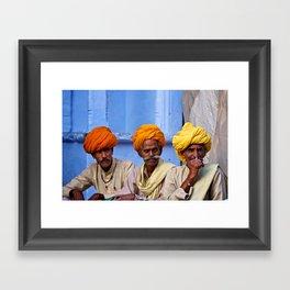 Turban Legends Framed Art Print
