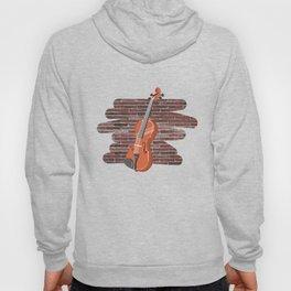 Violin Musical Instrument Hoody