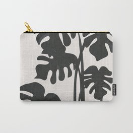 Monstera Line Carry-All Pouch