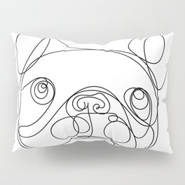 Chaca the Frenchie Pillow Sham