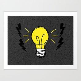 Lights Up Art Print