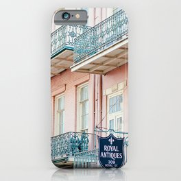 French Quarter, New Orleans Travel Photography iPhone Case