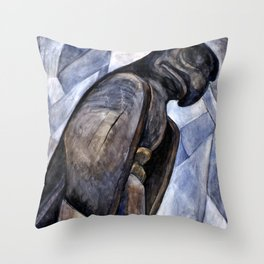 Emily Carr - Big Eagle, Skidegate - Canada, Canadian Oil Painting - Group of Seven Throw Pillow