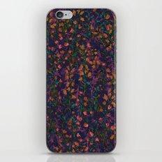purple fleur iPhone & iPod Skin