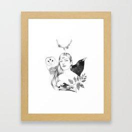Inside us IV Framed Art Print