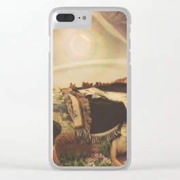 A Mother's Worry Clear iPhone Case