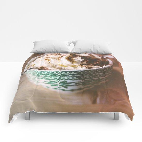 Whipped Cream Hot Chocolate Comforters