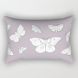 Moth Mania Rectangular Pillow