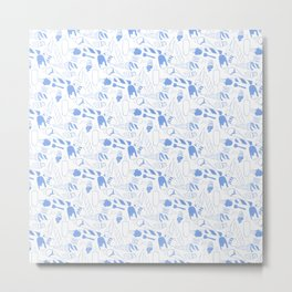 Creamy blue Metal Print