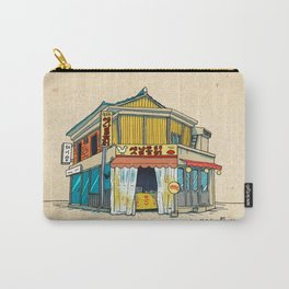Urban Minhwa: Local Chicken Place A Type (Korean traditional/folk art) Carry-All Pouch