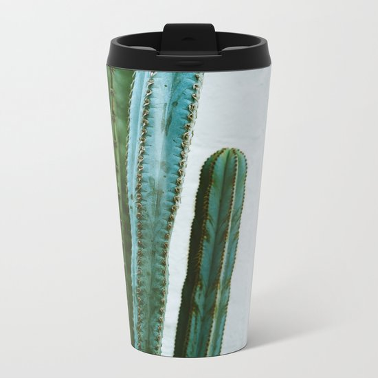 California Cactus Garden II Metal Travel Mug
