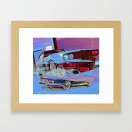 The Jensen Interceptor Framed Art Print