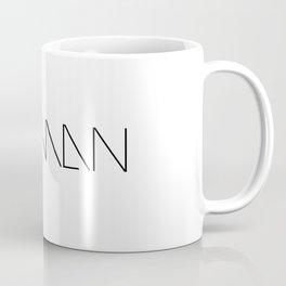 More than human Coffee Mug