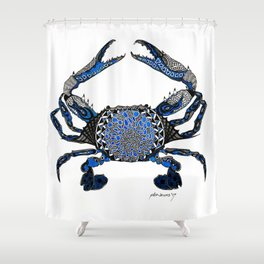 Ol' Blue Shower Curtain