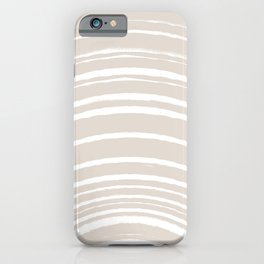 Zen Sunrise - Sand Beige iPhone Case