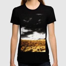 Exploring Sagebrush Field And Sky T-shirt