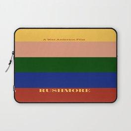 Rushmore minimalist poster Laptop Sleeve