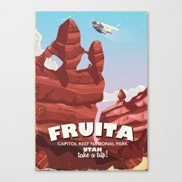 Fruita Capitol Reef National Park Utah Canvas Print