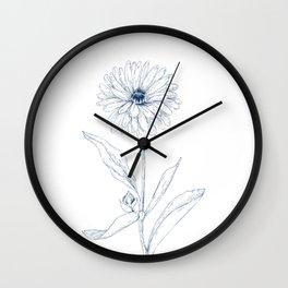 Calendula Wall Clock