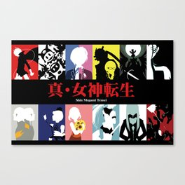 Shin Megami Tensei Canvas Print
