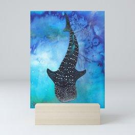Silent Swim Mini Art Print