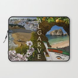 Algarve montage Laptop Sleeve