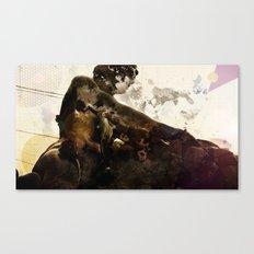 Black idol Canvas Print