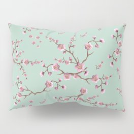 SAKURA  - PRETTY MINT Pillow Sham