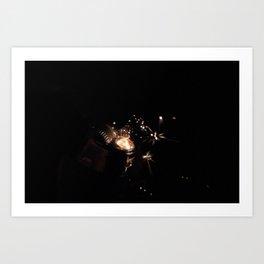 Birth Of A Flame. Art Print