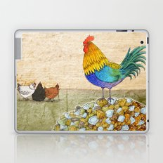 The Cockerel and The Jewel Laptop & iPad Skin