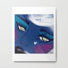 bratty & catty  Metal Print