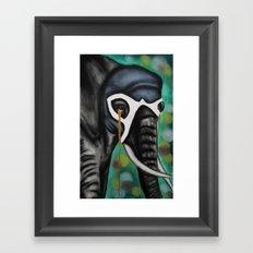 Elefante Don't Forget Framed Art Print