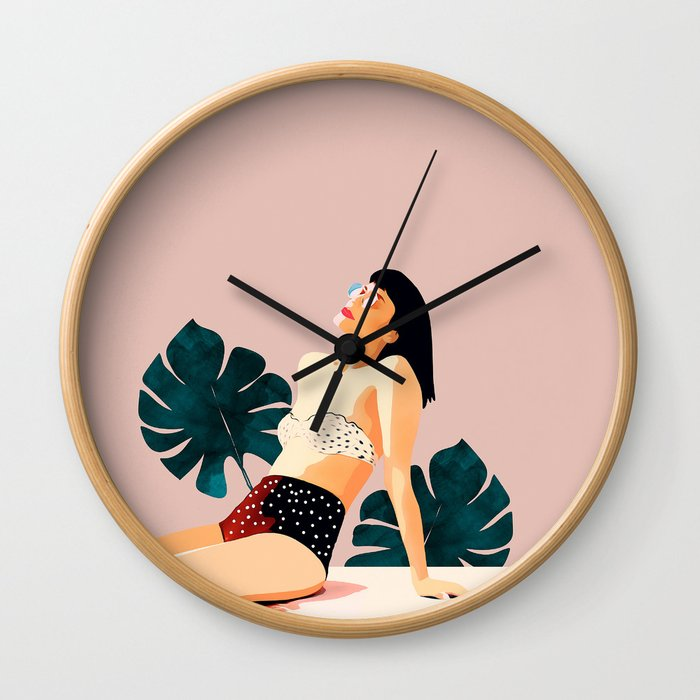 Sunday Wall Clock
