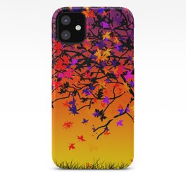 The Scent Of Halloween Autumn Tree iPhone Case